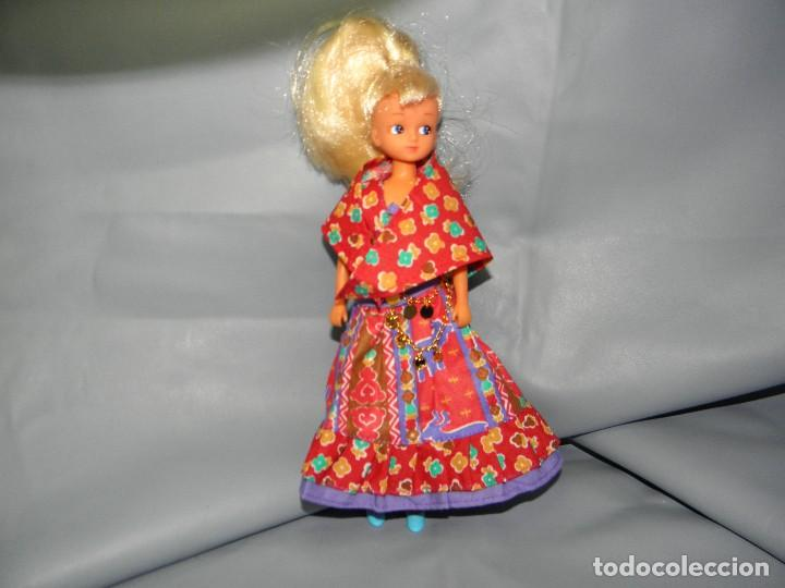 VESTIDO ZINGARA MUÑECA CHABEL DE FEBER (Juguetes - Vestidos y Accesorios Muñeca Española Moderna)