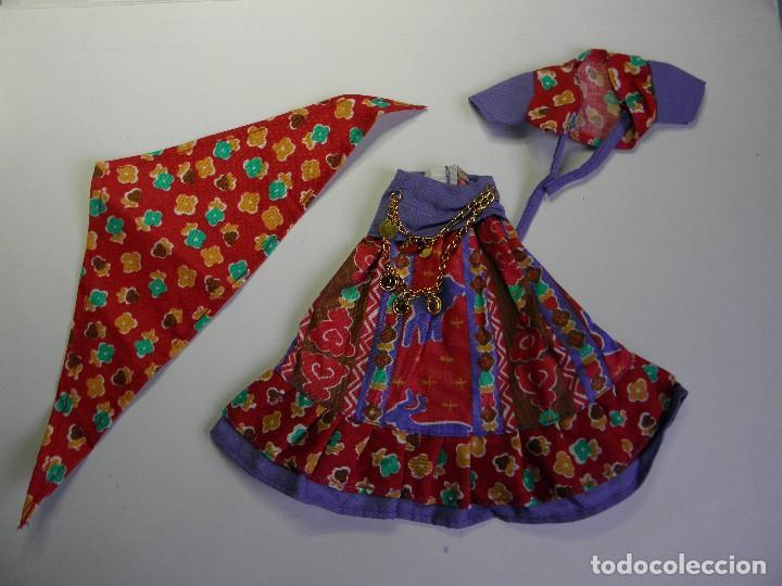 Vestidos Muñecas Españolas: VESTIDO ZINGARA MUÑECA CHABEL DE FEBER - Foto 3 - 192518392