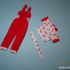Vestidos Muñecas Españolas: ¡ CHABEEL CHABEEL QUE BIEN ! CONJUNTO BURGUER DE CHABEL ORIGINAL NUEVO A ESTRENAR AÑO 1980-90. Lote 206317706