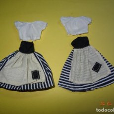 Vestidos Muñecas Españolas: ¡ CHABEEL CHABEEL QUE BIEN ! CONJUNTOS CENICIENTA POBRE DE CHABEL NUEVOS A ESTRENAR 1980-90S.. Lote 95054500
