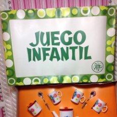 Vestidos Muñecas Españolas: JUEGO DE CAFÉ MARCA CEFA DE LOS 70. Lote 85700439