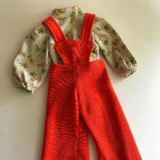 Vestidos Muñecas Españolas: MONO Y CAMISA PARA MUÑECA MAS GRANDE QUE NANCY. Lote 87648788