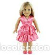 Vestidos Muñecas Españolas: PRECIOSO VESTIDO PARA MUÑECAS MIYO, AMERICAN, NENUCA, BABY BORN Y SIMILARES VER FOTOS. Lote 87839584