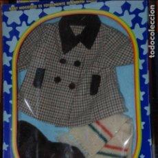 Vestidos Muñecas Españolas: BABY MOCOSETE EQUIPO ABRIGUITO BUFANDA Y GORRO NUEVO EN CAJA. Lote 96212123