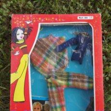 Vestidos Muñecas Españolas: CONJUNTO ROPA BLISTER MUÑECA CARINA-VICMA, AÑOS 70'S.. Lote 97248319