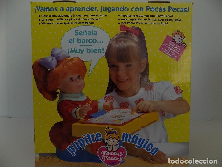 Vestidos Muñecas Españolas: Muñeca Pocas Pecas Pupitre Magico. Original Años 80. Nuevo, a estrenar! - Foto 6 - 97731891