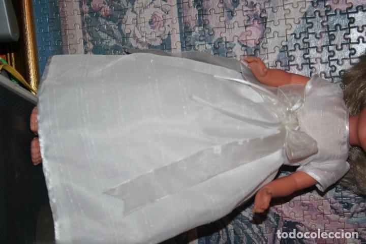 VESTIDO MUÑECA NANCY DE COMUNION O SIMILAR (Juguetes - Vestidos y Accesorios Muñeca Española Moderna)