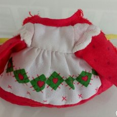 Vestidos Muñecas Españolas: TARTA DE FRESA AMERICAN GREETINGS 1979. Lote 104372763