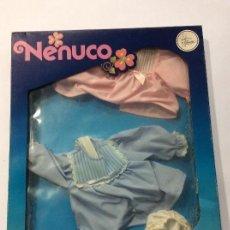 Vestidos Muñecas Españolas: CONJUNTO NENUCO CHAMBRITAS AÑOS 70. Lote 104598015