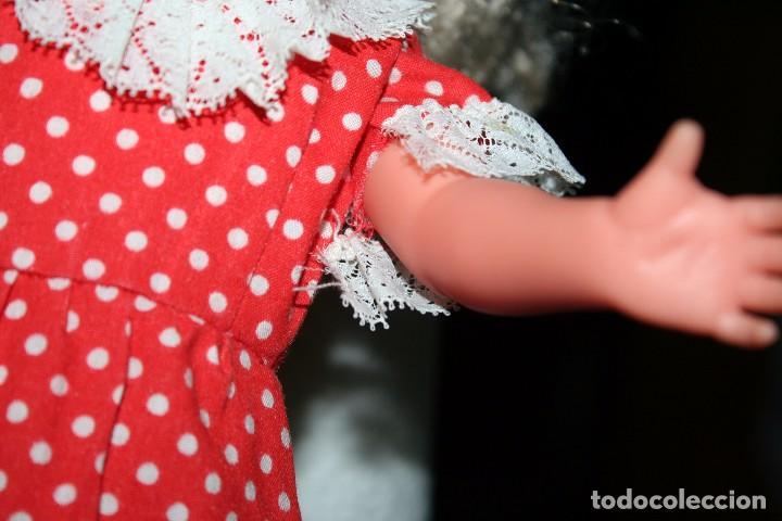 Vestidos Muñecas Españolas: vestido para nancy artesanal años 70 - Foto 2 - 105050183