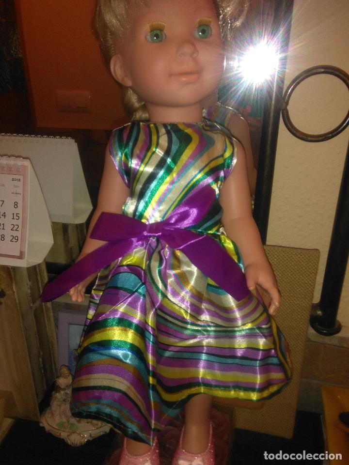 Vestidos Muñecas Españolas: Preciosisimo vestido para muñecas Miyo, Baby born, American, Nenuca y similares, ver fotos - Foto 3 - 108138555