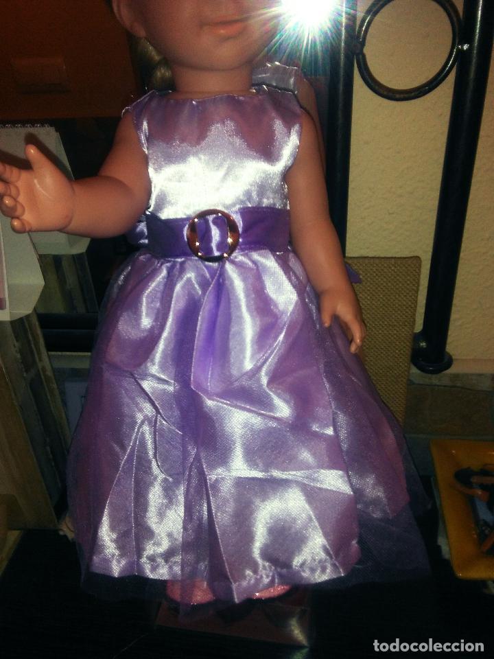 Vestidos Muñecas Españolas: Preciosisimo vestido para muñecas Miyo, Baby born, American, Nenuca y similares, ver fotos - Foto 4 - 108140107