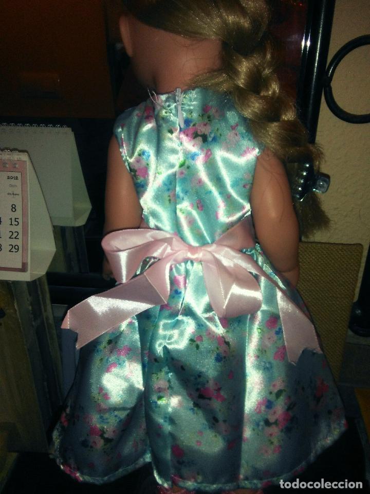 Vestidos Muñecas Españolas: Preciosisimo vestido para muñecas Miyo, Baby born, American, Nenuca y similares, ver fotos - Foto 2 - 108199035