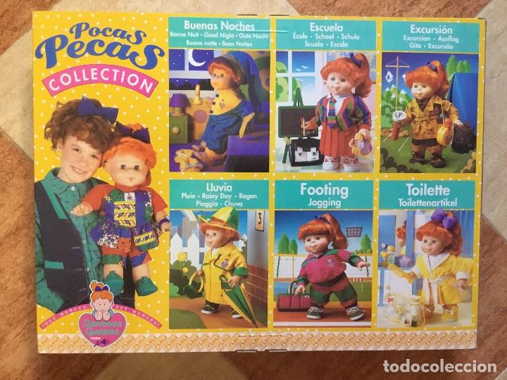 Vestidos Muñecas Españolas: Set de excursión muñeca Pocas Pecas - Feber, 1990 - Denenas Guapas - DESCATALOGADO SIN ABRIR RARO - Foto 2 - 111678367