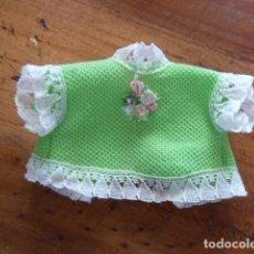 Vestidos Muñecas Españolas: CAMISA VERDE BARRIGUITAS. Lote 146059936