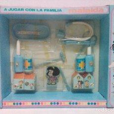Vestidos Muñecas Españolas: A JUGAR CON LA FAMILIA MAFALDA - BERDU´S - © QUINO - FABRICADO EN ESPAÑA.. Lote 112707747