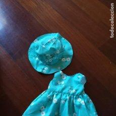 Vestidos Muñecas Españolas: VESTIDO Y PAMELA PARA MUÑECA 47. Lote 114786991