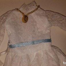 Vestidos Muñecas Españolas: VESTIDO COMUNION PARA MUÑECA NANCY. Lote 116476827