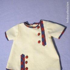 Vestido antiguo para muñecas, años 60