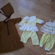 Vestidos Muñecas Españolas: LOTE DE ROPA Y ACCESORIOS MUÑECAS AÑOS 70. Lote 118395835