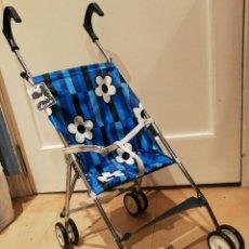 Antiguo carrito,cochecito o silla de paseo para muñeca,marca vercor.Años 70,made in Spain.sin usar.