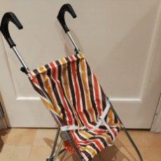 Antiguo cochecito, carrito o silla de paseo para muñeca, marca vercor. Años 70, made in Spain. Usado