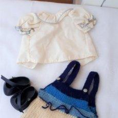 Vestidos Muñecas Españolas: NENUCO CONJUNTO RAYAS ORIGINAL. Lote 121092959