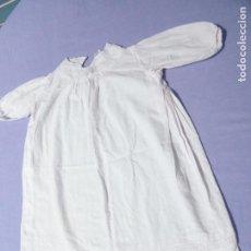 Vestidos Muñecas Españolas: FALDÓN ANTIGUO ROSA PARA MUÑECA BEBÉ O REBORN, DE LOS AÑOS 50. Lote 122681959