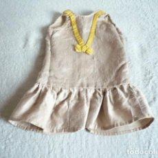 Vestidos Muñecas Españolas: VESTIDO MUÑECA ANTIGUA VER MEDIDAS. Lote 126717547