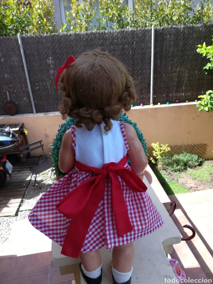Vestidos Muñecas Españolas: Vestido bordado en el delantero y braguita para muñeca de 50 cm y de 64 cm. -31 - Foto 6 - 128643491