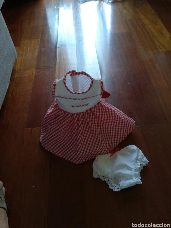 Vestidos Muñecas Españolas: Vestido bordado en el delantero y braguita para muñeca de 50 cm y de 64 cm. -31 - Foto 8 - 128643491