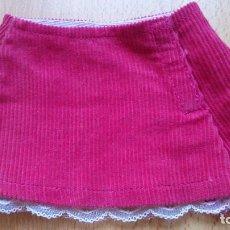 Vestidos Muñecas Españolas - Falda rosa pana original muñeca Nenuco Famosa - 129433579
