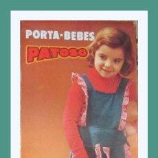 Vestidos Muñecas Españolas: PRECIOSO PORTA BEBES CUNA MOISES DEL MUÑECO PATOSO DE VICMA, NUEVO CON CAJA ORIGINAL. Lote 129565375