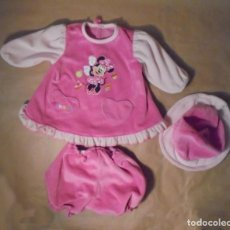 Vestidos Bonecas Espanholas: CONJUNTO MINNIE MUÑECA GRANDE. Lote 130281378