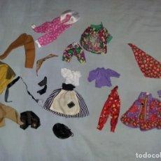Vestidos Muñecas Españolas: LOTE DE ROPA VESTIDOS MUÑECA CHABEL Y DANNY DE FEBER NUEVOS IDEAL PARA MUÑECAS BYTHEL. Lote 131113336