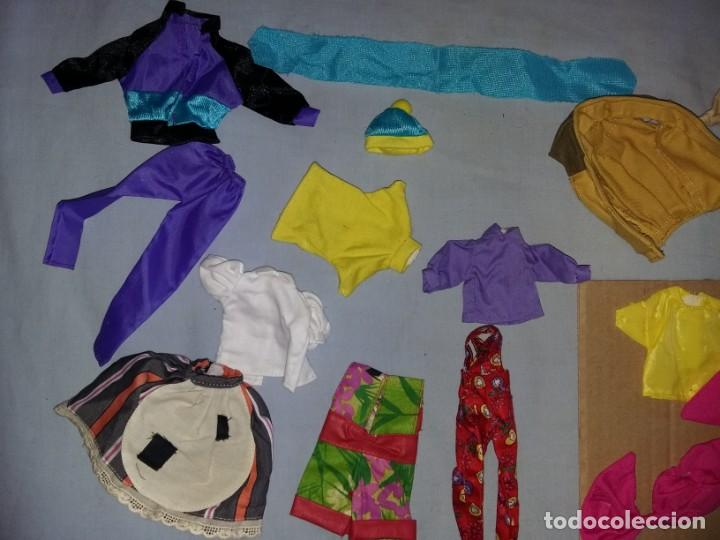 Vestidos Muñecas Españolas: LOTE DE ROPA VESTIDOS MUÑECA CHABEL Y DANNY DE FEBER NUEVOS IDEAL PARA MUÑECAS BYTHEL - Foto 4 - 131113484