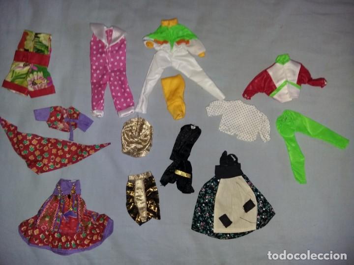 LOTE DE ROPA VESTIDOS MUÑECA CHABEL Y DANNY DE FEBER NUEVOS IDEAL PARA MUÑECAS BYTHEL (Juguetes - Vestidos y Accesorios Muñeca Española Moderna)