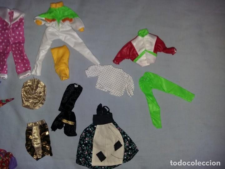 Vestidos Muñecas Españolas: LOTE DE ROPA VESTIDOS MUÑECA CHABEL Y DANNY DE FEBER NUEVOS IDEAL PARA MUÑECAS BYTHEL - Foto 2 - 131113600