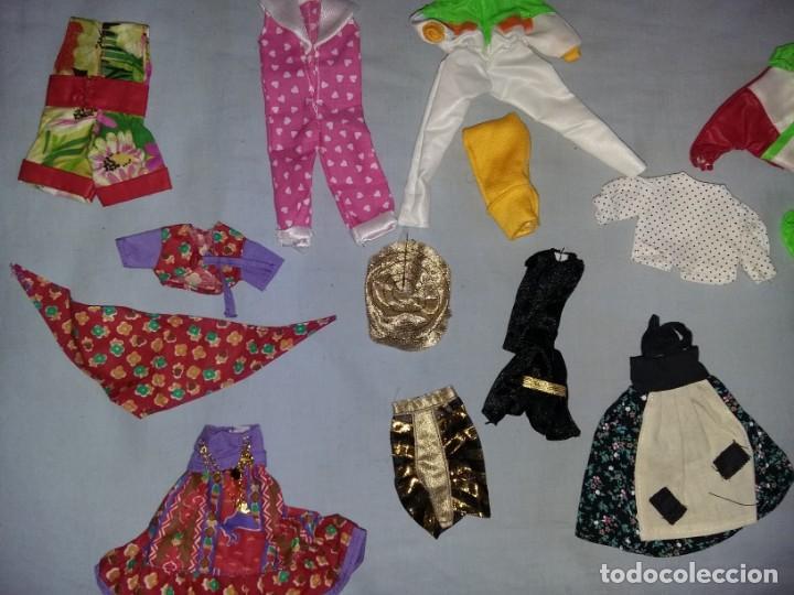 Vestidos Muñecas Españolas: LOTE DE ROPA VESTIDOS MUÑECA CHABEL Y DANNY DE FEBER NUEVOS IDEAL PARA MUÑECAS BYTHEL - Foto 3 - 131113600