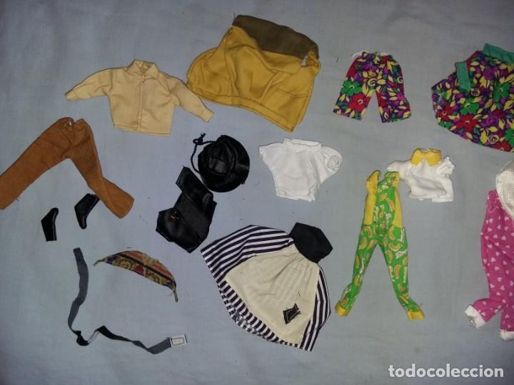 Vestidos Muñecas Españolas: LOTE DE ROPA VESTIDOS MUÑECA CHABEL Y DANNY DE FEBER NUEVOS IDEAL PARA MUÑECAS BYTHEL - Foto 3 - 131113840
