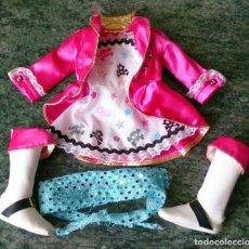 Vestidos Muñecas Españolas: CONJUNTO ORIGINAL MUÑECA NANCY NEW FAMOSA DISFRAZ PIRATA. Lote 131164412