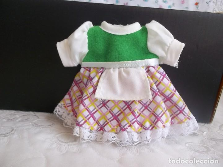 Vestidos Muñecas Españolas: VESTIDO BARRIGUITAS CAPERUCITA ROJA - Foto 2 - 131662882