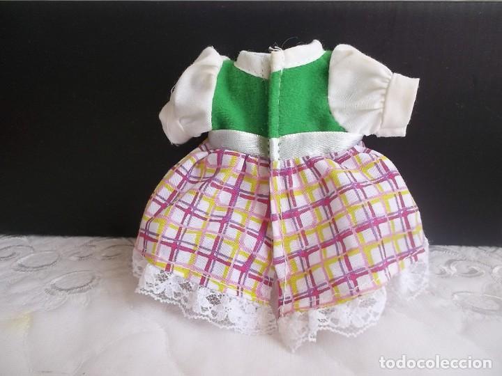 Vestidos Muñecas Españolas: VESTIDO BARRIGUITAS CAPERUCITA ROJA - Foto 3 - 131662882