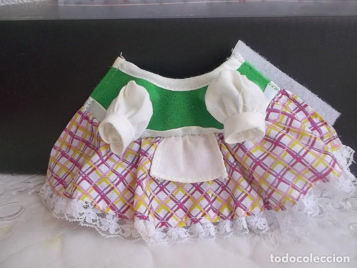 Vestidos Muñecas Españolas: VESTIDO BARRIGUITAS CAPERUCITA ROJA - Foto 6 - 131662882