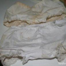 Vestidos Muñecas Españolas: BRAGUITAS MUÑECA GRANDE CHUPETE MUÑECO SANDALIAS. Lote 133157930