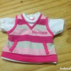 Vestidos Muñecas Españolas: PRECIOSA CAMISETA JERSEY MUÑECO NENUCO DE FAMOSA. Lote 133416862