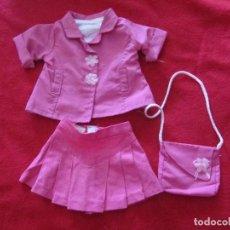 Vestidos Muñecas Españolas: CONJUNTO PARA MUÑECA MÁS GRANDE QUE NENUCO O MOCOSETE.. Lote 133720462