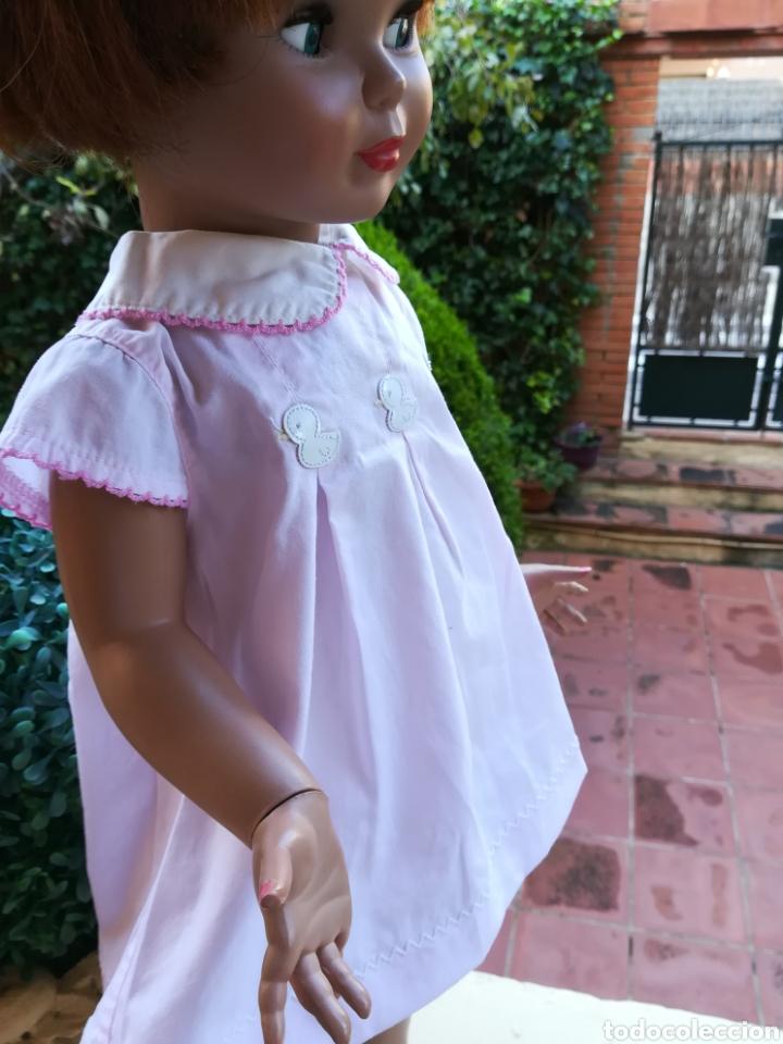 Vestidos Muñecas Españolas: Vestido rosa para muñeca pierina con tres patitos - Foto 2 - 133881529