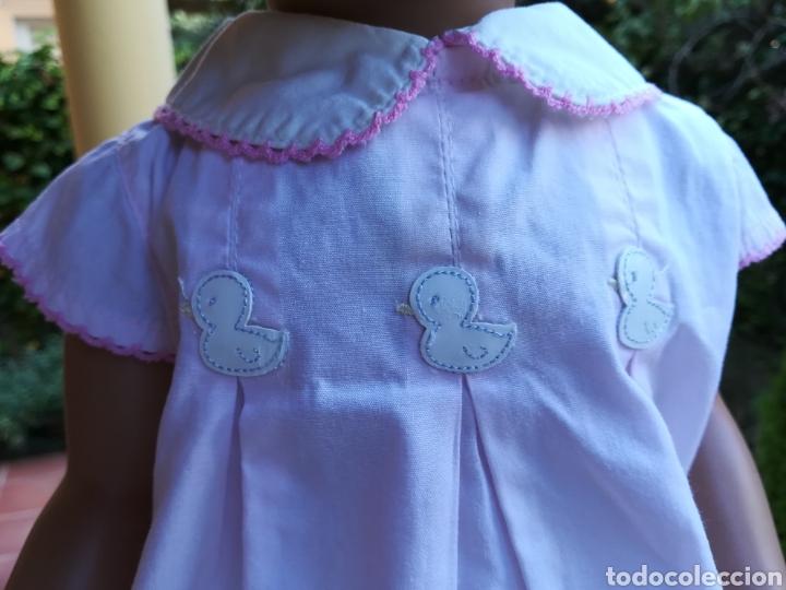 Vestidos Muñecas Españolas: Vestido rosa para muñeca pierina con tres patitos - Foto 4 - 133881529