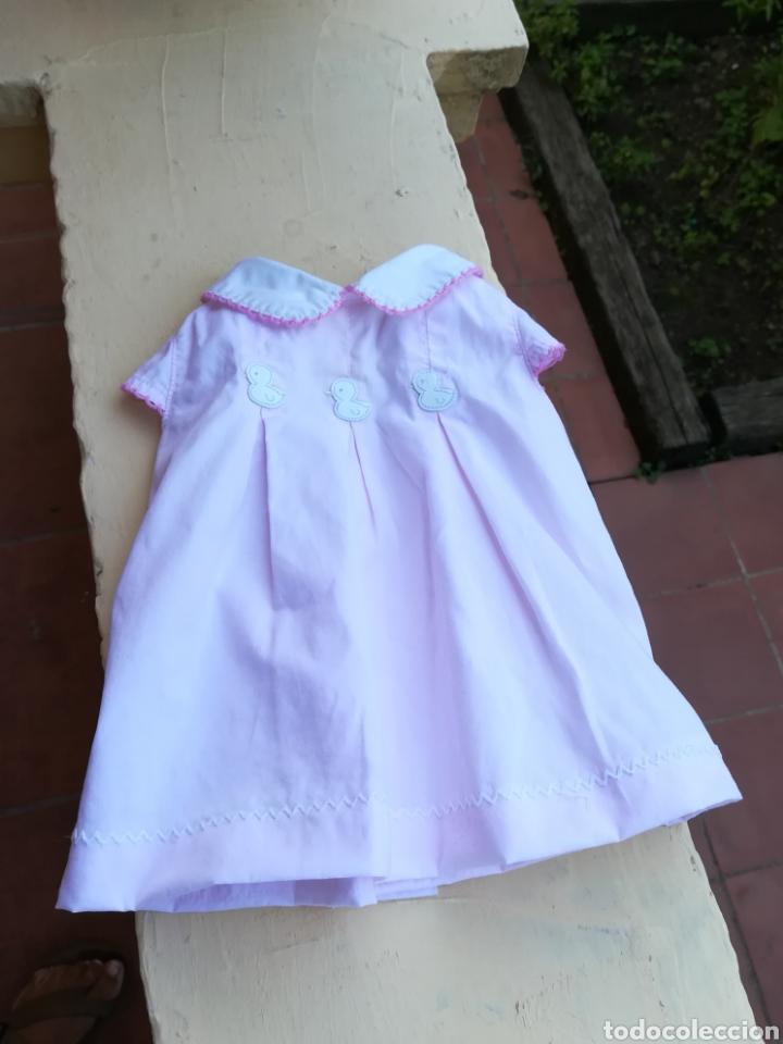 Vestidos Muñecas Españolas: Vestido rosa para muñeca pierina con tres patitos - Foto 5 - 133881529